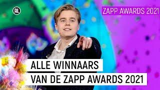 STUKTV, LAVEZZI RUTJES EN MATTHY IN DE PRIJZEN  | Zapp Awards 2021 | NPO Zapp