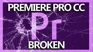 Adobe Premiere Pro CC: File has no audio or video streams SOLUTION