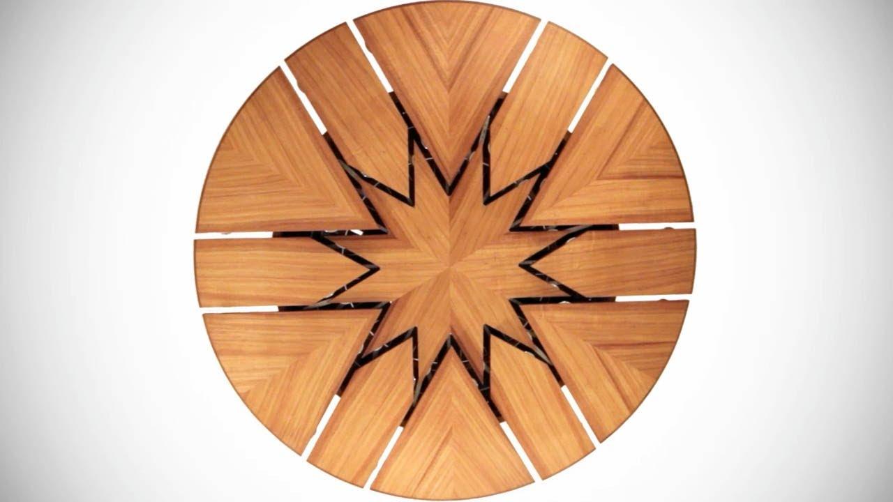 High Tech Dining Table Rotates U0026 Expands | Designs U0026 Ideas On Dornob