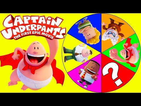 Dreamworks Captain Underpants Movie Game with Paw Patrol Everest, Chase, Surprizamals Toys