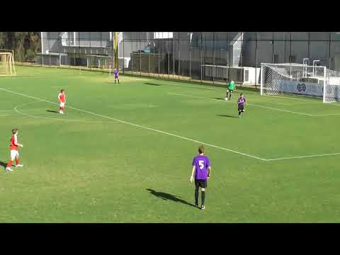 ECU  vs Perth Glory (U13 NPL Friendly) First Half