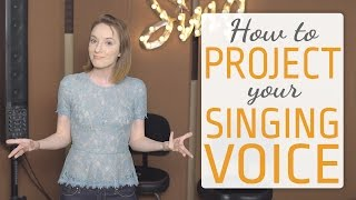 How to project y๐ur voice - vocal projection when you sing