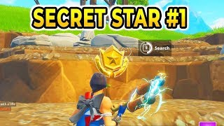 SEMAINE 1 SECRET BATTLE STAR SAISON 5 EMPLACEMENT! Fortnite Battle Royale Road Trip Challenges (en)