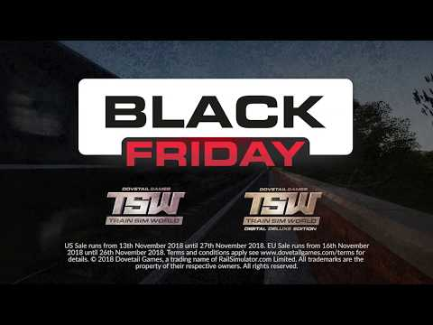 TSW: PlayStation 4 Black Friday Sale NOW ON