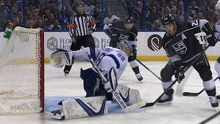 Vasilevskiy's incredible behind-the-back save