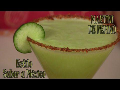 Martini de Pepino Sabor a México