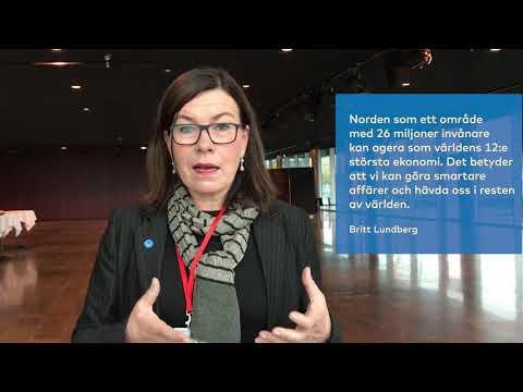 Hvad får den enkelte borger ud af, at Norden bliver verdens mest integrerede region? Britt Lundberg