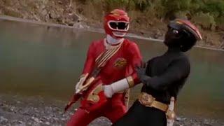 Power Ranger Fuerza Salvaje   Rangers vs Shadow Rangers