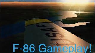 Gunship 3 Mig Alley- F-86 Gameplay!