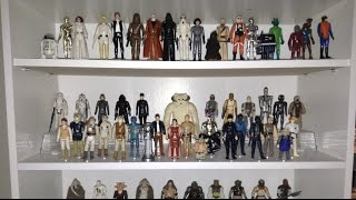 Vintage Star Wars Action Figure Collection Tour