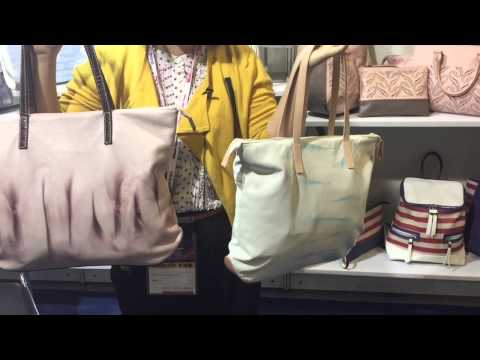 Hot new handbags at the Global Sources Fashion Accessories show, Hong Kong