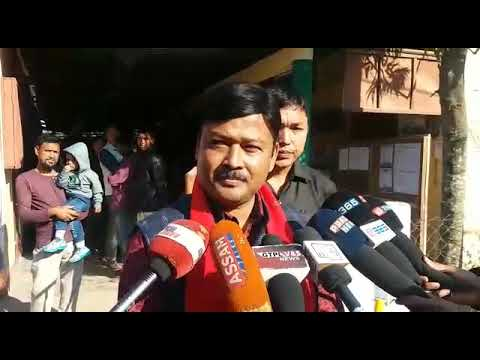 Moran : MLA Chakradhar Gogoi on Panchayat election today