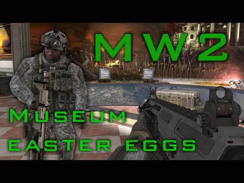 Cod MW2 museum: Tricks and easter eggs