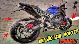 O PNEU DO DRAGÃO AZUL E STYLO MOTO GP CORRIDA (LUIZINHÔ.Ô)