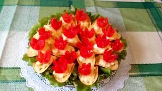 Еврейский салат в новом стиле.  Новый год не  за горами!