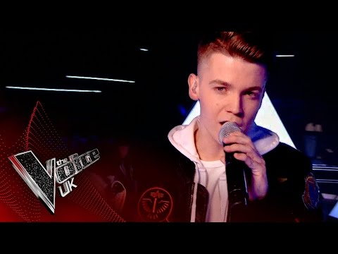 Jamie Miller performs 'Stitches': The Semi Finals | The Voice UK 2017