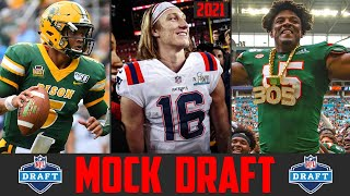 2021 NFL Mock Draft | Trevor Lawrence Trey Lance Justin Fields Gregory Rousseau Caleb Farley