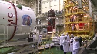 ТГК  Прогресс МС 05   Укладка грузов