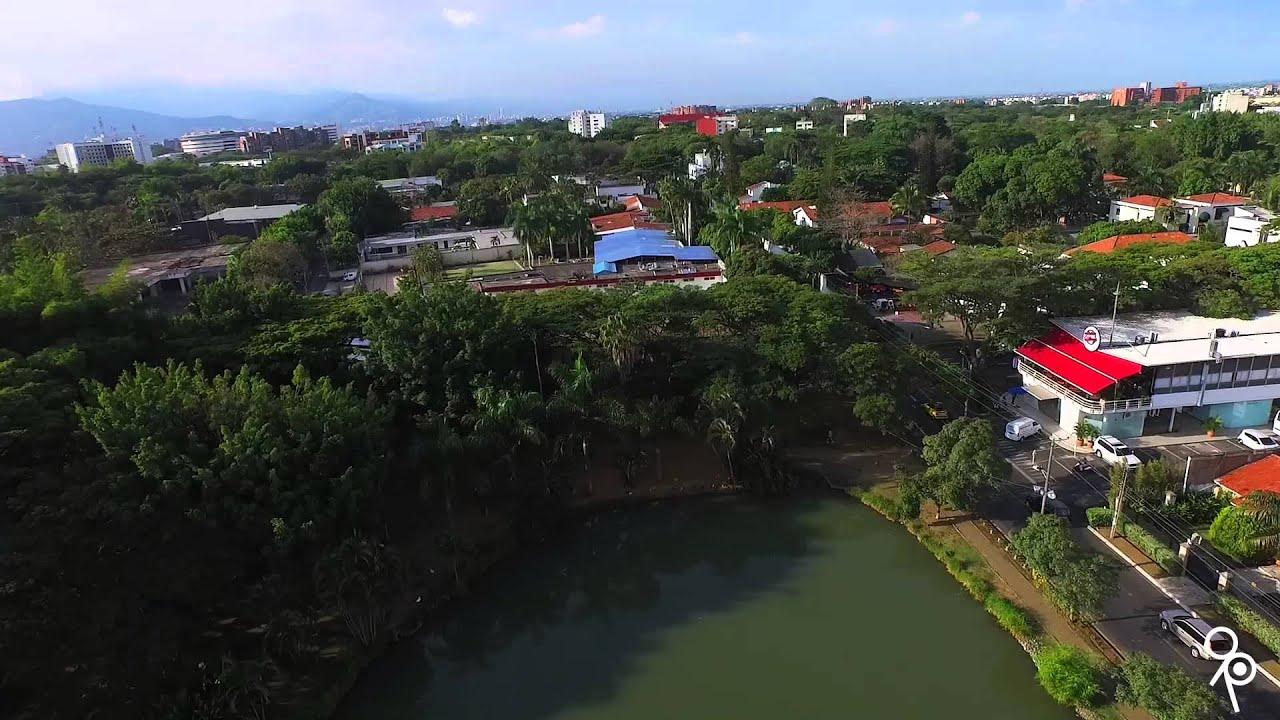 humedal lago de la babilla ciudad jardin cali youtube