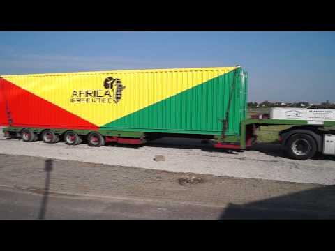Africa GreenTec Amali Serie 2017 Ankunft