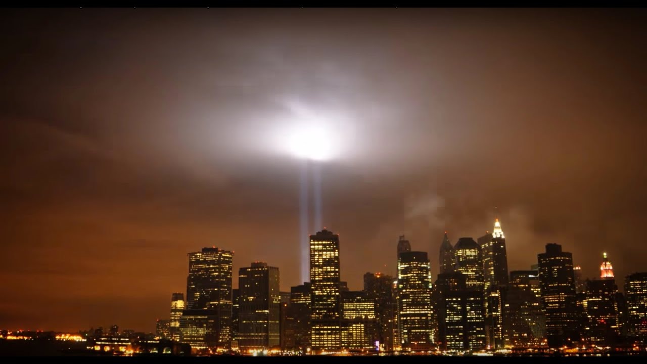 New York City Time Lapse of Brooklyn & Manhattan (with 9/11 tribute ...