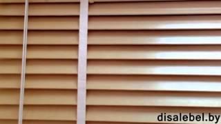 Жалюзи горизонтальные дерево, бамбук (DisaleBel.by)(В данном видео Вы увидите всю красоту и элегантность, качество и практичность горизонтальных жалюзи из..., 2015-01-12T12:09:04.000Z)