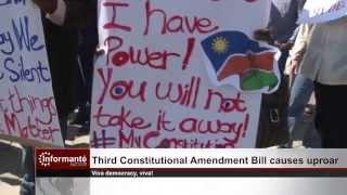 Third Constitutional Amendment Bill causes uproar