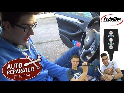 DTE PEDALBOX   Einbau und Test   BMW E46 E90 E60 Tuning   DIY Tutorial