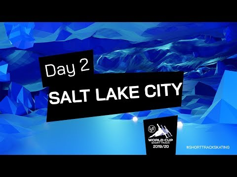 LIVE 🔴   Day 2   World Cup Salt Lake City 2019   #ShortTrackSkating