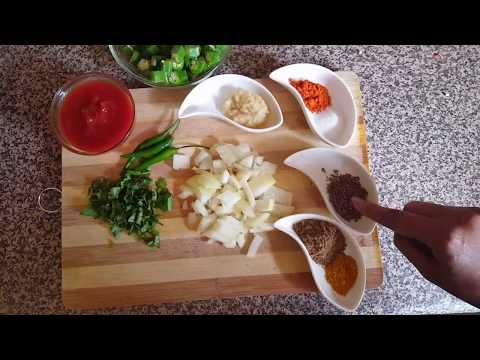 Bhindi Fry Karachi Style - Cooking Tips by Aysha