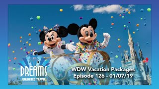 Walt Disney World Vacation Packages 101 | 01/07/19