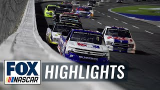 NC Education Lottery 200 | NASCAR ON FOX HIGHLIGHTS