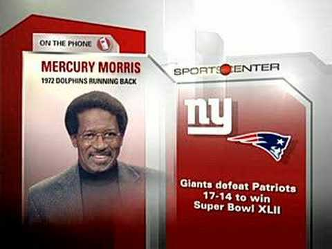 Mercury Morris Thanks New York Giants - YouTube 9c3a7119a