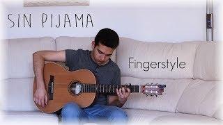 Sin Pijama - Becky G, Natti Natasha - Cover Guitarra (Fingerstyle)
