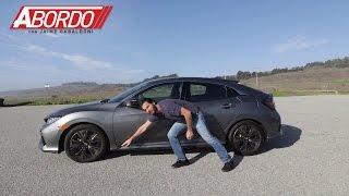 Honda Civic Hatchback 2017 - Prueba A Bordo Completa