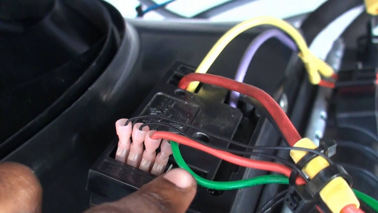 maxresdefault dodge ram flex a lite 183 fan install youtube flex a lite fan controller wiring diagram at couponss.co