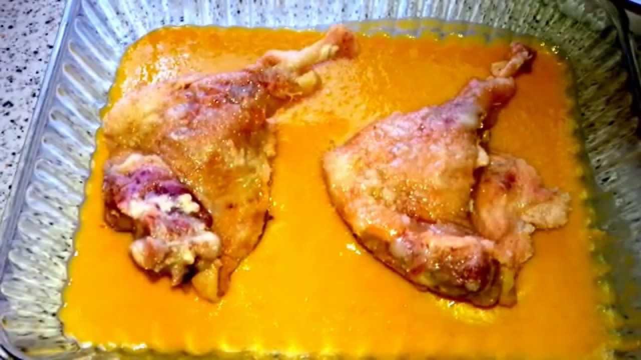 Muslos de pato con salsa de naranja youtube for Pato a la naranja