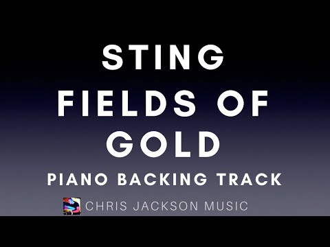 Fields of Gold - piano backing track / karaoke FREE