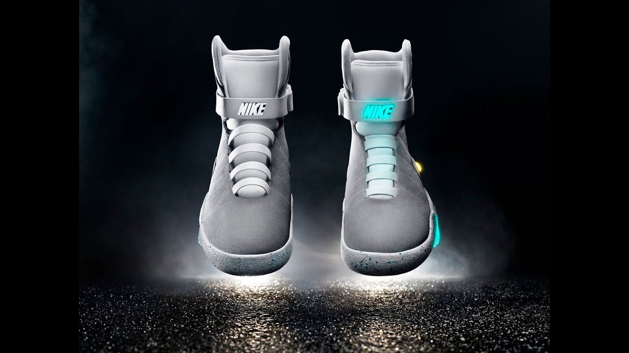 Marty McFly s self-lacing shoes are FINALLY here - YouTube 0a9169bf3