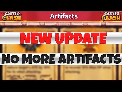 New Update Sneak Peek   NO MORE ARTIFACTS ?   CASTLE CLASH