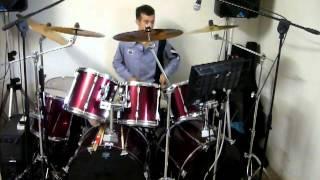 Adriano Celentano: Hot dog buddy buddy/Prisen - Drums improvvisation
