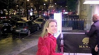 EXCLUSIVE: Natalia Vodianova and other guests at Natalia Vodianova birthday in Paris