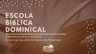 EBD - Contentamento e Gratidão - Rev. Renato Romão - 25/10/2020