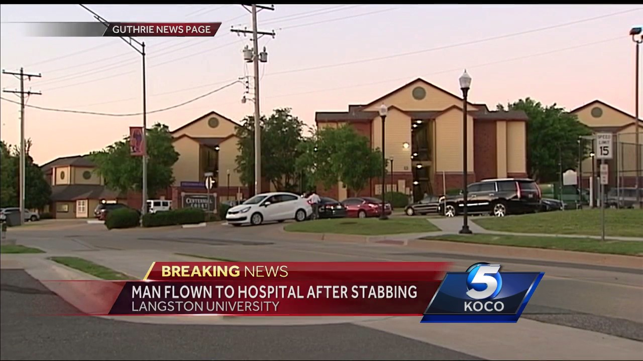 Man Taken To Hospital With Stab Wounds After Incident Near Langston University
