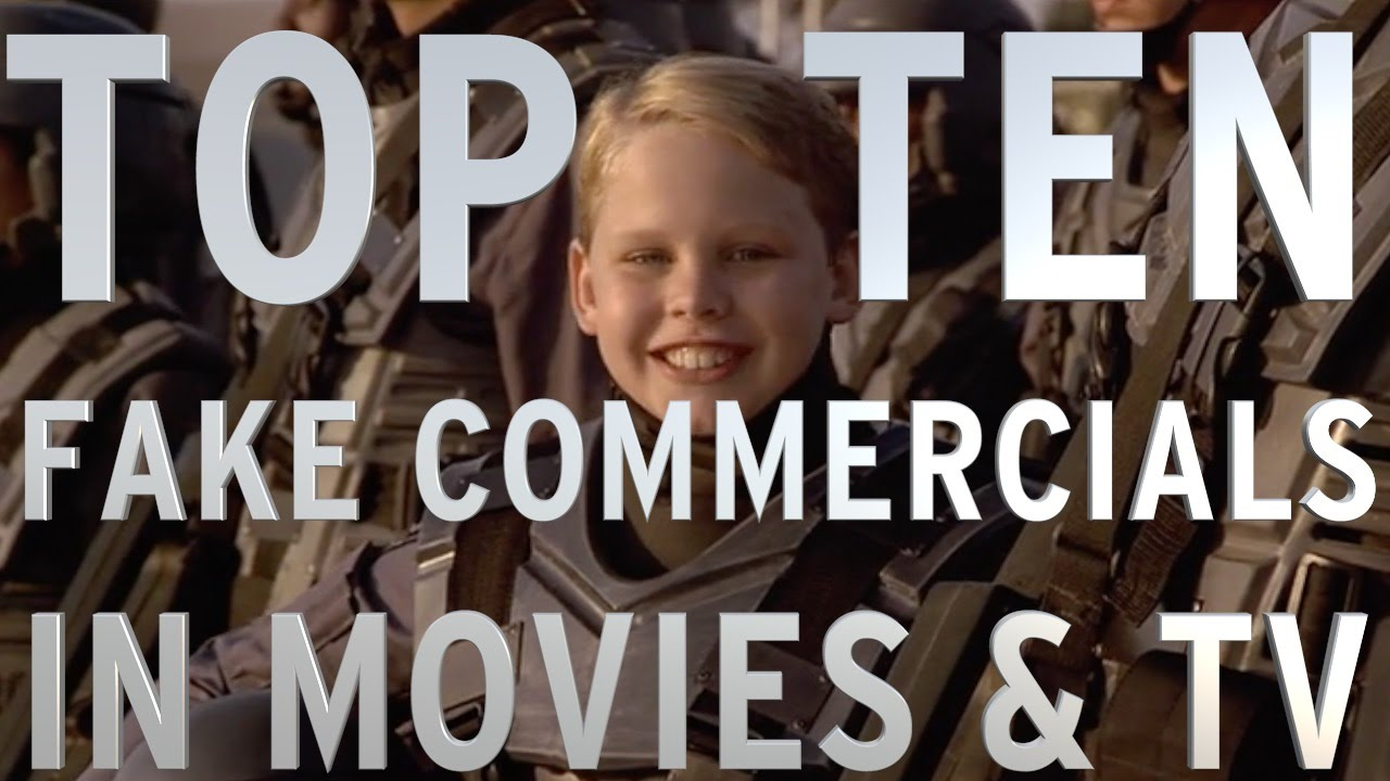 Top 10 Fake Commercials In Movies And TV (Quickie)