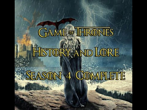 Game of Thrones - History and Lore - Season 4 Complete - ENG and TR Subtitles