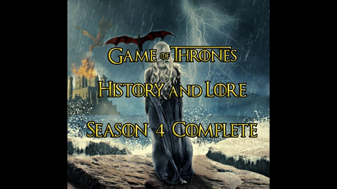 Game of Thrones - Histories and Lore - Season 4 Complete - ENG and TR Subtitles