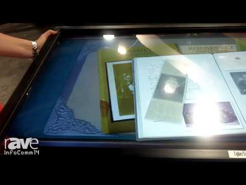 InfoComm 2014: CyberTouch Tells Us About Their Mono Light Table