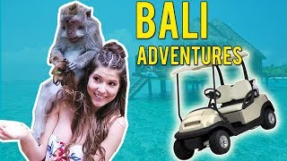 MONKEY BALLS AND STEALING GOLF CARTS? | Amanda Cerny ft. Mayweather vs Conor McGregor