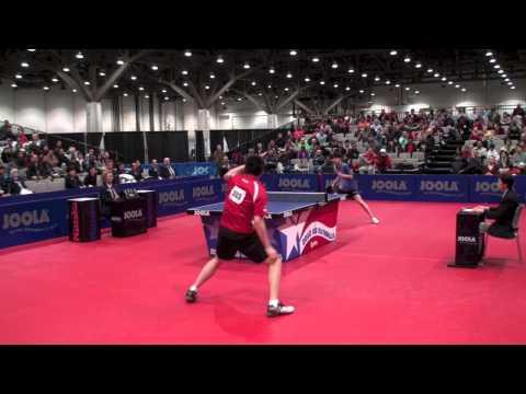 Jeff Lin Huang vs Billy Ding  Men's Single Semifinal